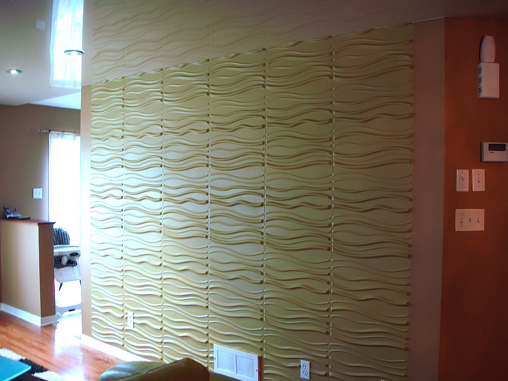 3D Wall And Extenso Ceiling