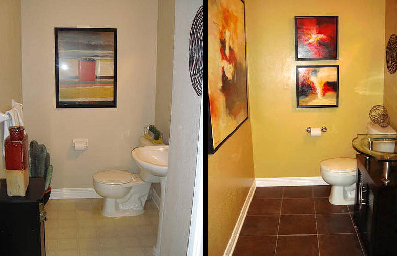 Bathroom Remodel: Before/After